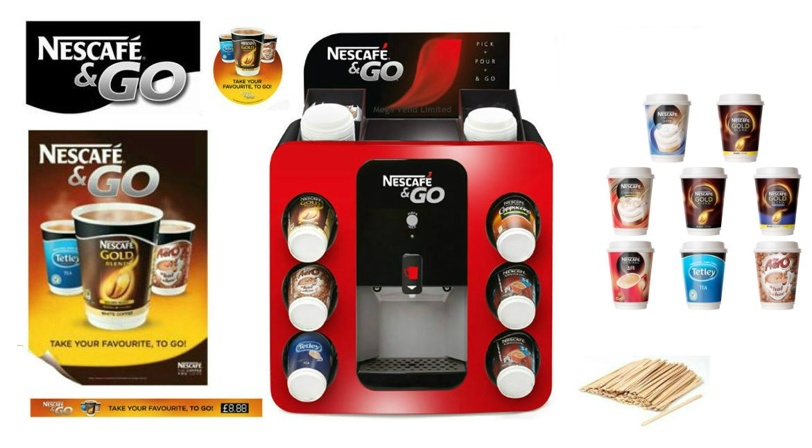 Nescafe Nescafe Amp Go Nescafe And Go Dispenser Vending